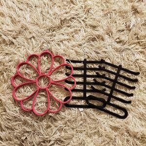 Scarf/purse/belt hangers